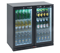 Bottle Cooler | Double Door Hinged 225L Silver | Burco